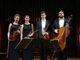 Cuarteto Aris. Recital de música de cámara, 2016
