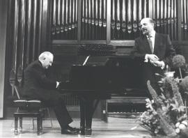 Miguel Zanetti y Manuel Cid. Concierto En recuerdo de Federico Sopeña - [Concierto especial 36] , 1992