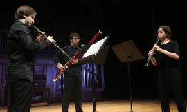 Yolanda Fernández, Juan Carlos Rivas y Carlos Tarancón. Recital de música de cámara , 2016