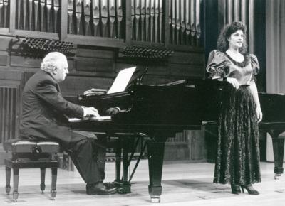 Miguel Zanetti y Mª José Martos. Concierto Música española de salón