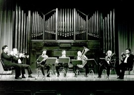 Gupo Español de Metales. Concierto Música para metales , 1993