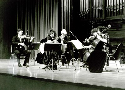 Cuarteto de Cuerda Martí i Soler. Concierto Boccherini, música de cámara