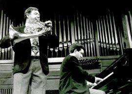 Miguel Ángel Colmenero y Gerardo López Laguna. Concierto Música para metales , 1993
