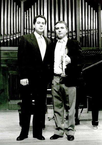José Ortí y Jesús Amigo. Concierto Música para metales