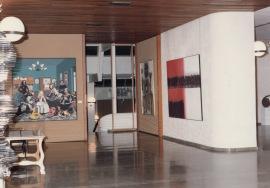 Vista parcial de la exposición Arte Español Contemporáneo, 1982