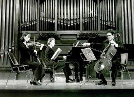 Trío de Bilbao, Aurore Schoonbroodt, Jean Halsdorf y Javier Hernández. Concierto Tríos con piano , 1993
