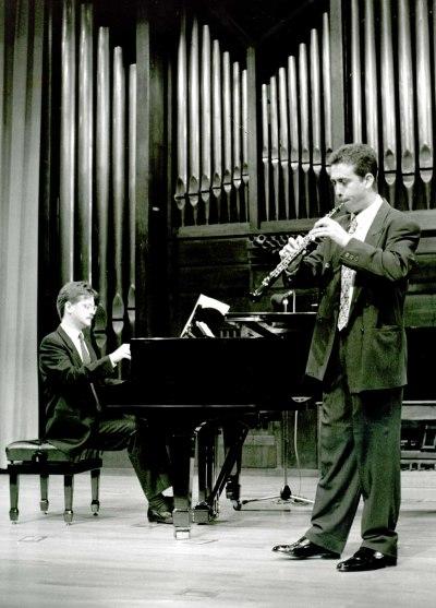 Cayetano Castaño y Francisco Luis Santiago. Recital de oboe y piano