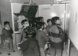 Vista parcial de la exposición Grabados de Goya, 1982