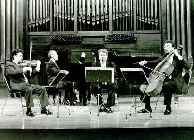 Trío Mompou y Adolfo Garcés. Concierto Tríos con piano