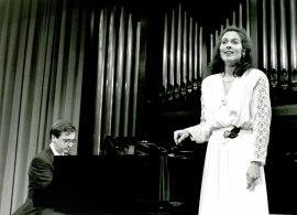 Anne McMillan y Alejandro Zabala. Recital de canto y piano , 1993