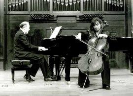 Pilar Serrano y Miguel Ángel Samperio. Recital de violonchelo y piano , 1993