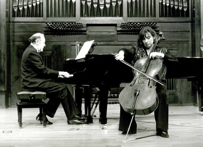 Pilar Serrano y Miguel Ángel Samperio. Recital de violonchelo y piano