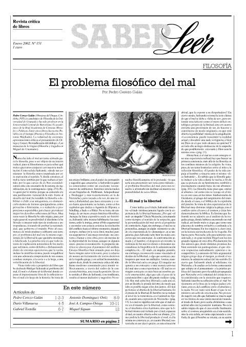 """Portada de """"Revista Saber Leer 2002"""""""