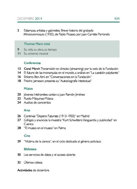 """Portada de """"Boletín diciembre 2014"""""""