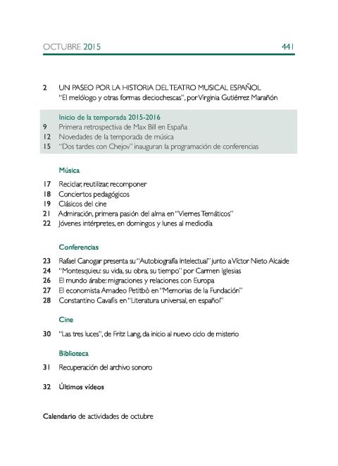 """Portada de """"Boletín octubre 2015"""""""