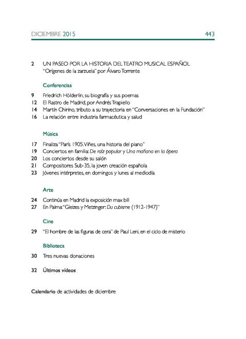 """Portada de """"Boletín diciembre 2015"""""""