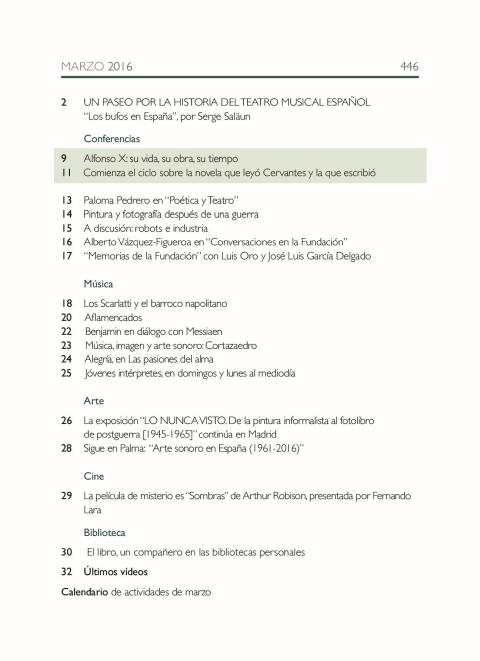 """Portada de """"Boletín marzo 2016"""""""