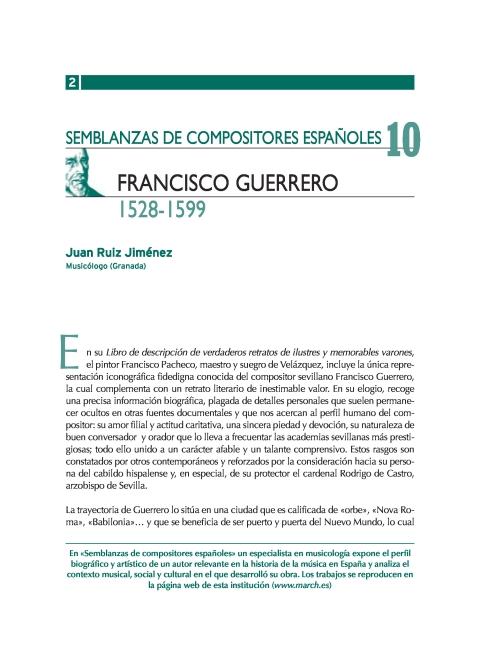 "Portada de ""Francisco Guerrero (1528-1599)"""