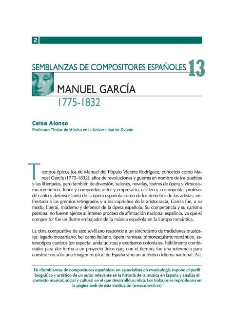 """Portada de """"Manuel García (1775-1832)"""""""