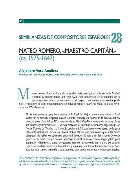"""Portada de """"Mateo Romero (ca. 1575-1647)"""""""