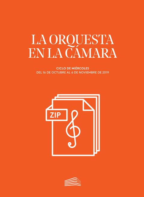 """Portada de """"La orquesta en la cámara"""""""