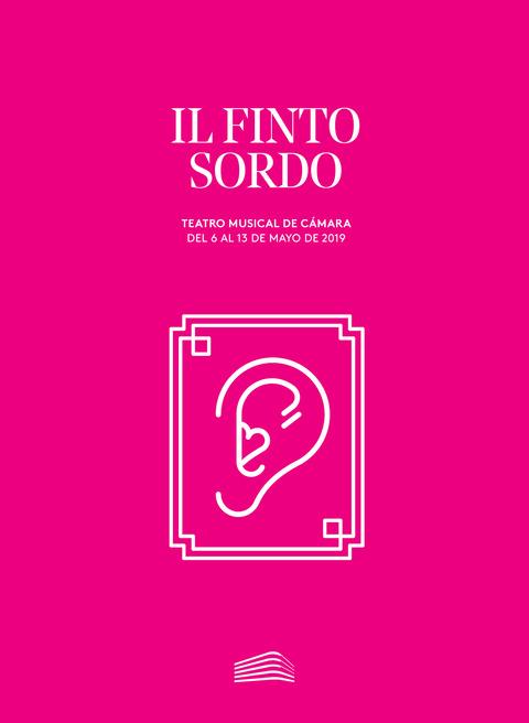 """Portada de """"Il finto sordo, de Manuel García. Teatro Musical de Cámara. 6 de mayo de 2019"""""""