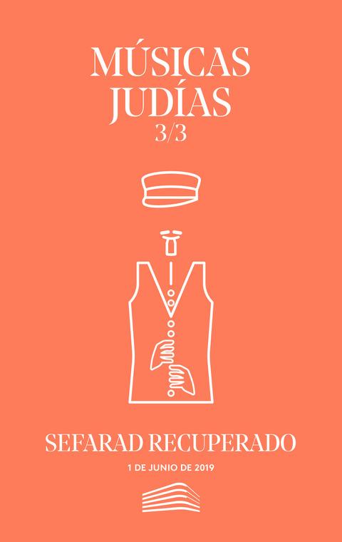 """Portada de """"Músicas judías. Sefarad recuperado. Conciertos del Sábado. 1 de junio de 2019"""""""