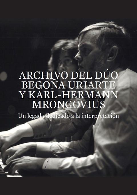 "Portada de ""Archivo del Dúo Begoña Uriarte y Karl-Hermann Mrongovius"""