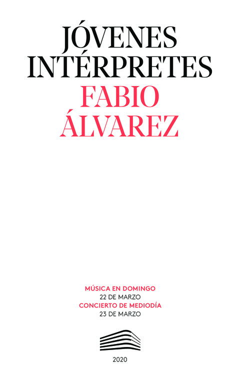 """Portada de """"Fabio Álvarez. Makrokosmos, de Crumb. Jóvenes intérpretes. 23 de marzo de 2020"""""""