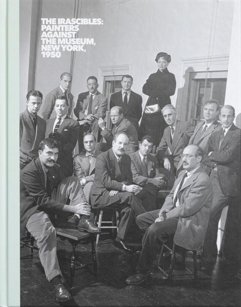"Portada de ""The Irascibles: painters against the museum, New York, 1950"""