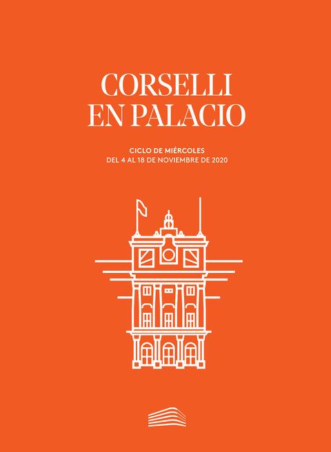 """Portada de """"Corselli en palacio. Ciclos de Miércoles. noviembre de 2020"""""""