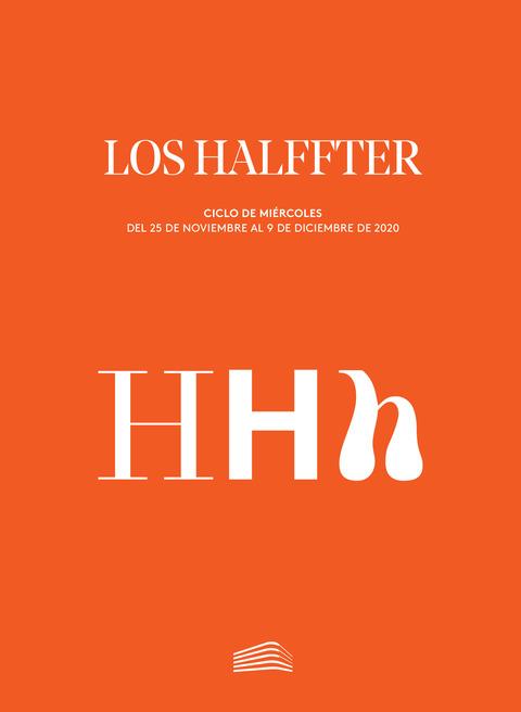 """Portada de """"Los Halffter. Ciclos de Miércoles. noviembre a diciembre de 2020"""""""