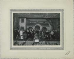 """Fotografía de """"La rosa del azafrán"""" de Guillermo Fernández-Shaw y Federico Romero con música de Jacinto Guerrero : Teatro Rojas (Toledo)."""
