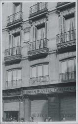 Fotografía del exterior del Teatro Real (Madrid).