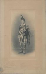 Fotografía de Guillermo Fernández-Shaw a los nueve años de edad.