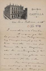 Cartas de Carlos Fernández Shaw a Cecilia Iturralde, su esposa.