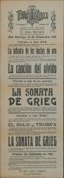 See work details: La canción del olvido; La sonata de Grieg