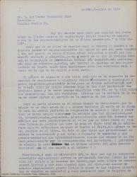 """Cartas de autor desconocido, firmadas como """"Colás"""" a Guillermo Fernández-Shaw, felicitándole y haciendo comentarios sobre los estrenos de varias de sus obras."""