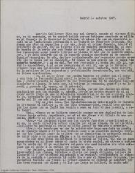 Cartas entre Federico Romero y Guillermo Fernández-Shaw en las que se refleja la polémica ruptura de su relación amistosa tras muchos años de colaboración.