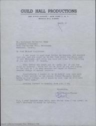 Cartas dirigidas a Guillermo Fernández-Shaw desde Estados Unidos, tratando temas diversos.