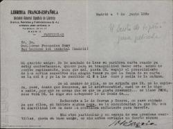 """Cartas de José García a Guillermo Fernández-Shaw, hablando sobre los envíos de fragmentos para el guión cinematográfico de """"El Cristo de la Peña""""."""