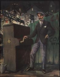 """Programa de mano de la película """"La revoltosa"""", basada en la obra teatral del mismo título, de Carlos Fernández Shaw y José López Silva, música de Ruperto Chapí."""