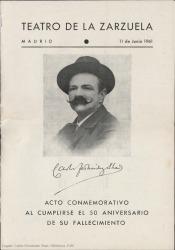 Ver ficha de la obra: Don Lucas del Cigarral; La chavala; La Revoltosa; La venta de Don Quijote; La vida breve