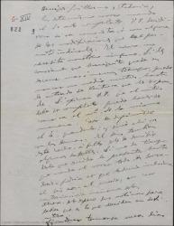 """Carta de Amadeo Vives a Federico Romero y Guillermo Fernández-Shaw, mandándoles el tercer acto completo y proponiendo arreglos para """"Los flamencos""""."""