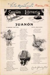 Cuaderno 30 (1911). Artículos sobre obras de Carlos Fernández Shaw.