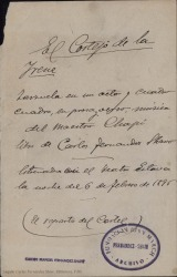 El cortejo de la Irene : zarzuela en un acto y cuatro cuadros, en prosa y verso / Carlos Fernández Shaw ; música de Ruperto Chapí.