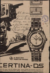 Carta de Guillermo Fernández-Shaw a Restituto Pérez, remitiéndole una fotografía aparecida en la prensa del primero ante Francisco Franco.