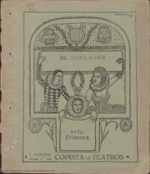 El burlador : farsa de marionetas en cuatro actos, segundo y tercero divididos en dos cuadros / original de Federico Romero y Guillermo Fernández-Shaw.