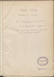 """Cuaderno 11 (Marzo de 1924-Enero de 1927). Estreno de la obra """"Doña Francisquita"""" en América y nuevamente en España. Críticas en prensa y otra documentación."""