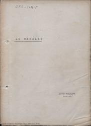 La Cibeles : sainete lírico en tres actos, el segundo dividido en dos cuadros / original de Federico Romero y Guillermo Fernández-Shaw, música de Jacinto Guerrero.